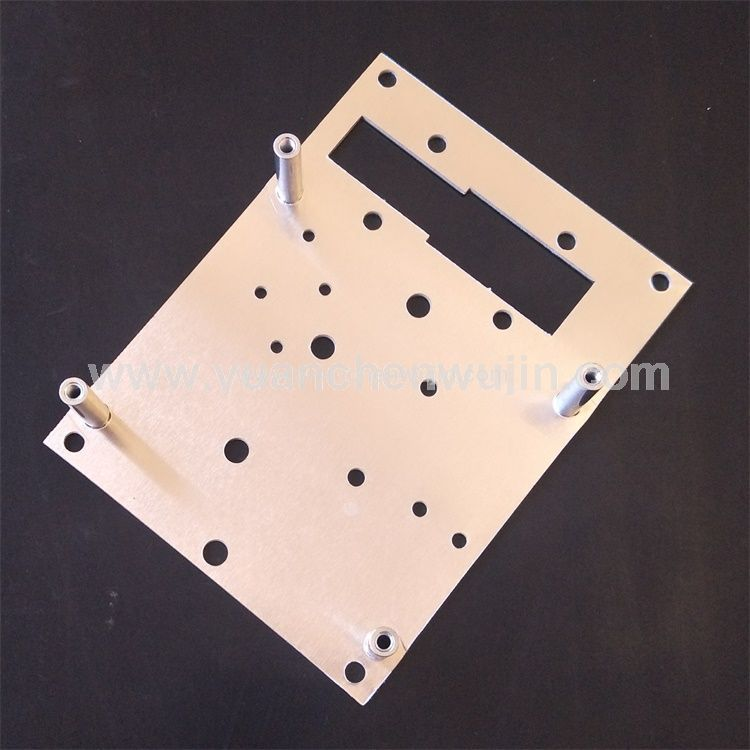 Aluminum Plate Cutting Stamping and Riveting Parts