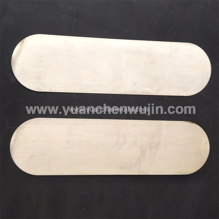 Copper Electrode Sheet Customized Processing