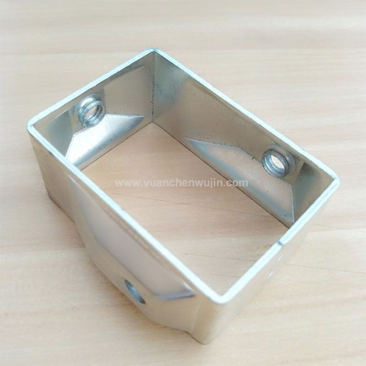Galvanized Connection Bracket for Guardrails and Fences