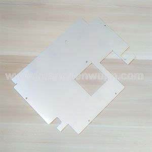 Laser Cutting Parts for Aluminum Sheet