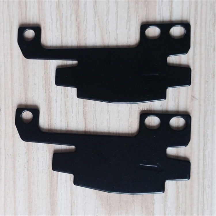 1.5mm Carbon Steel Stamping 3 Holes Bracket