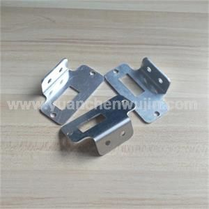Nonstandard Customized Small Aluminium L Shaped Bracket