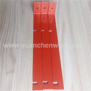 Small Powder Coated Mild Steel L Shaped Support Bracket for Wine Shelf