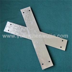 Laser cutting service of galvanized sheet steel parts