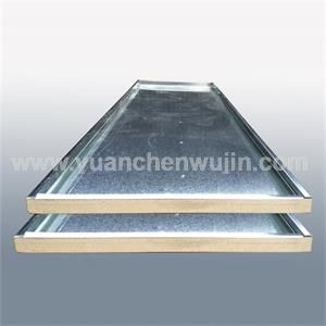 Galvanized Sheet Stamping Bending Guardrail Plate for Water Treatment Equipment