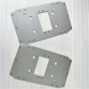 Sheet Metal Cutting Service of Carbon Steel Sheet