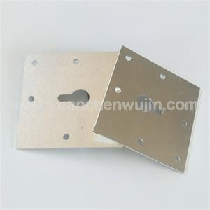 Stamping and Laser Cutting of Aluminum Plate 3003