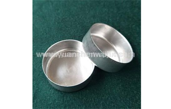 Why does the Aluminum Stamping Lids surface have defects?