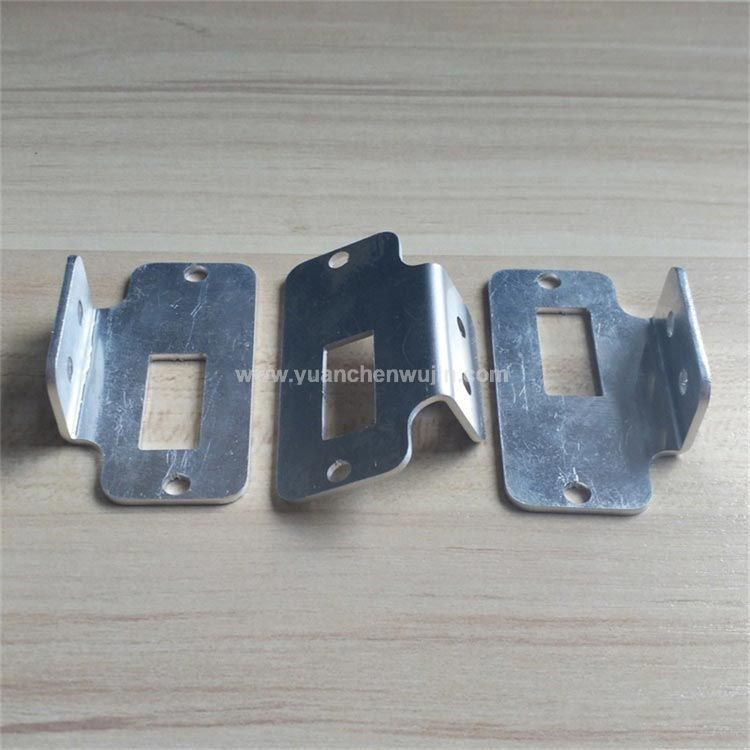 Nonstandard Customized Small Aluminium L Shaped Bracket