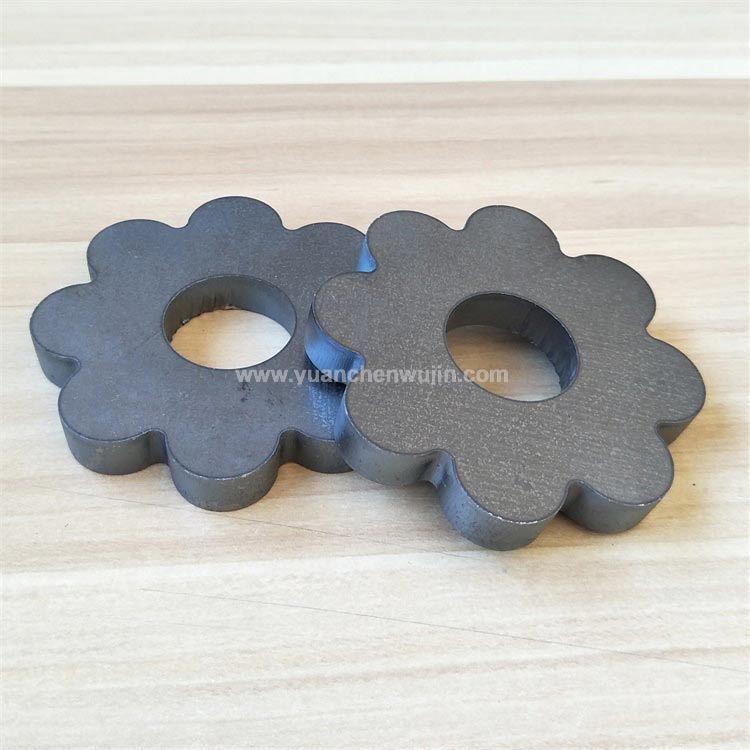 Metal Plum Blossom Hand Wheel for Machine Equipment Fittings
