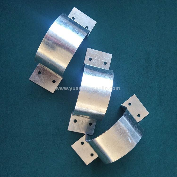 Sheet Metal Clips Galvanized Plate Hoop C Clamp for Pipe