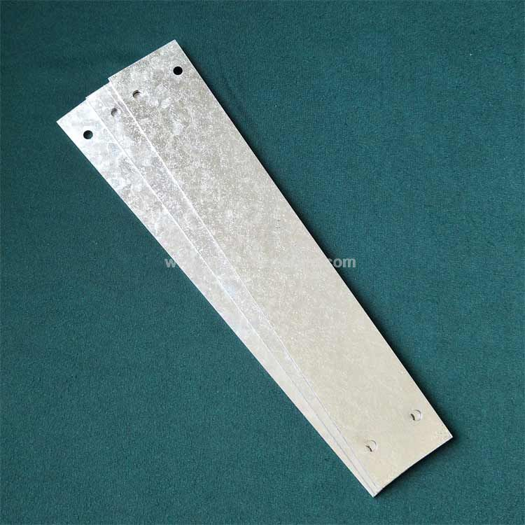 Laser cutting service of galvanized sheet steel parts