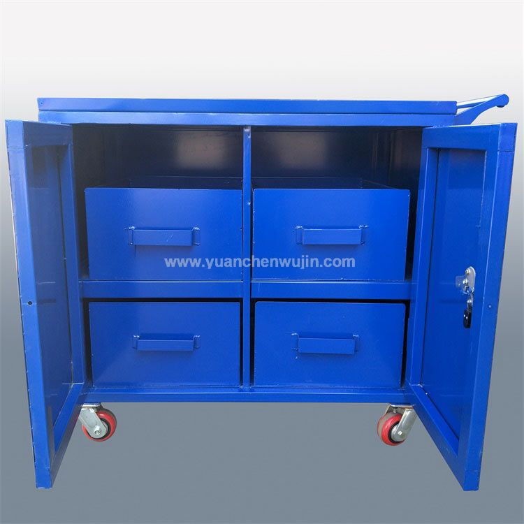 Nonstandard tool cabinet and tool cart for metal workshop