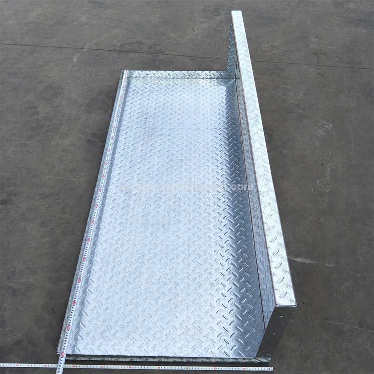 Galvanized Sheet Platform of Mechanical Equipment