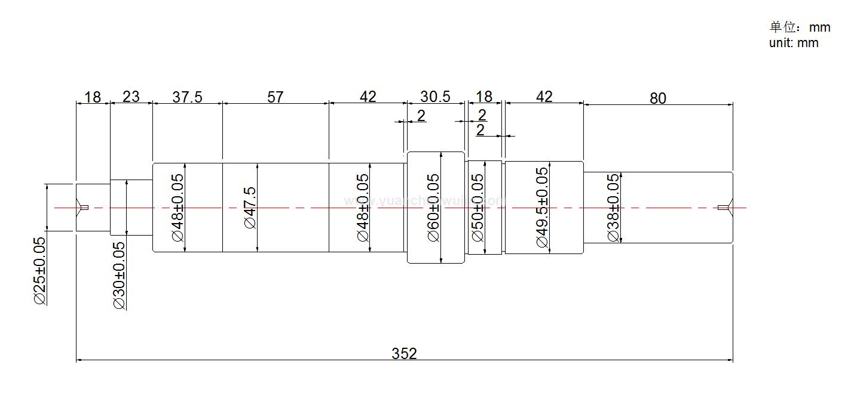 Various Motor Shafts, Rotating Shafts, Gear Shafts